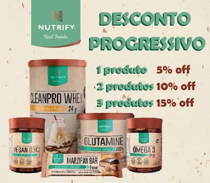 Desconto progressivo Nutrify